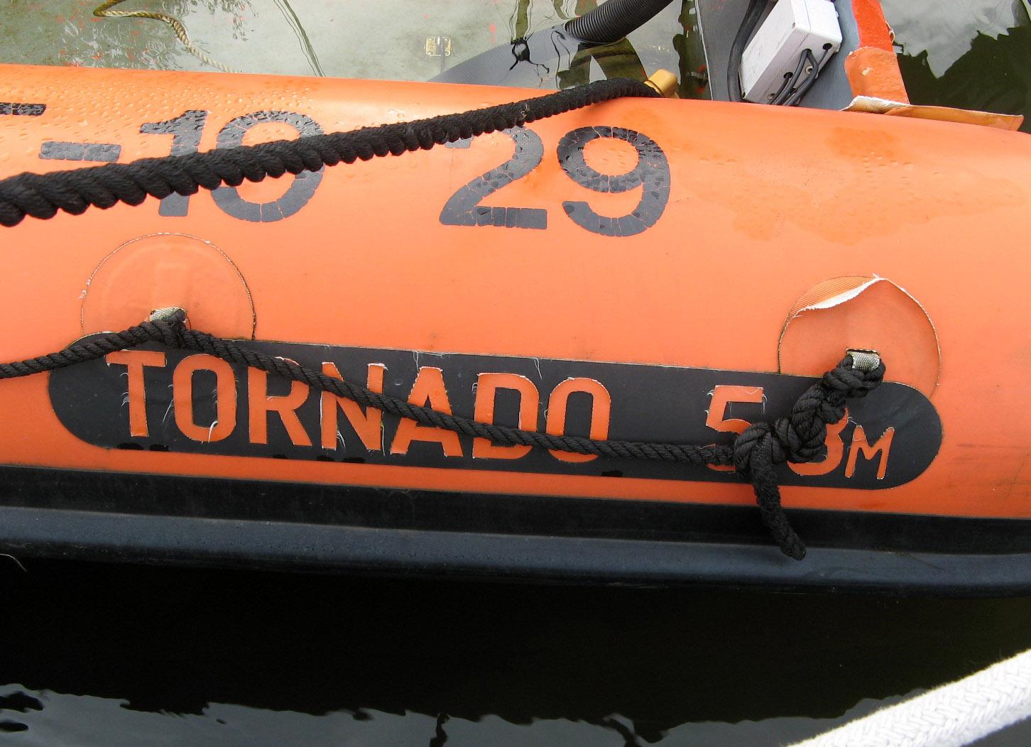 Voor de renovatie – Tornado (Hypalon)